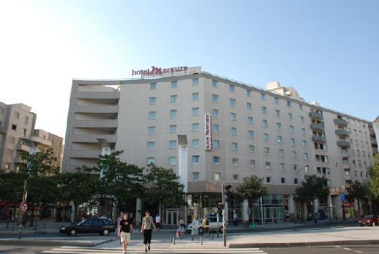 Hôtel Mercure Lyon Charpennes : facciata hotel