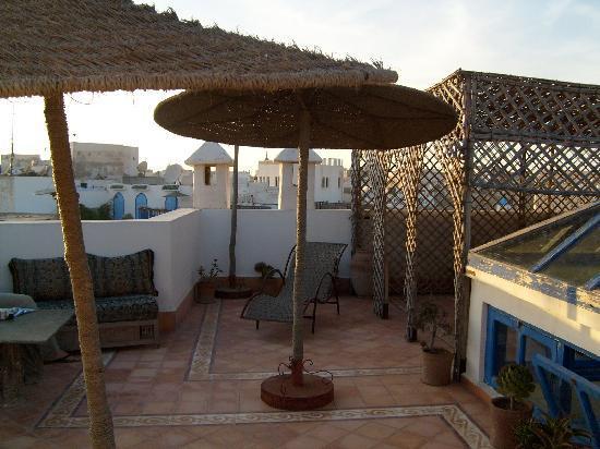 La Maison Du Vent : terrasse again