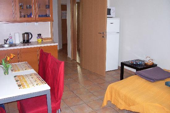 Aparthotel City 5: Kitchen/living room/bedroom