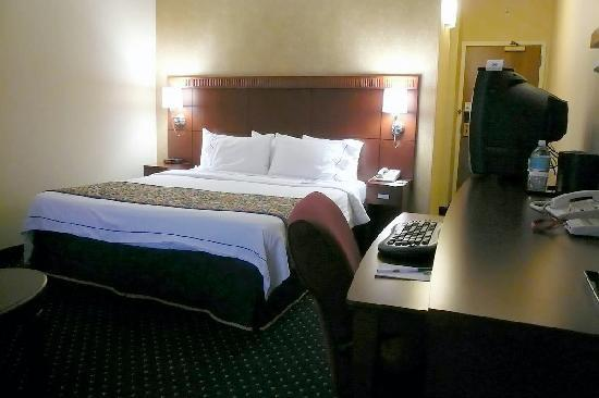 Courtyard Indianapolis Airport: king bed