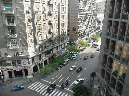 Cairo Khan Suites Hotel: A room with a view