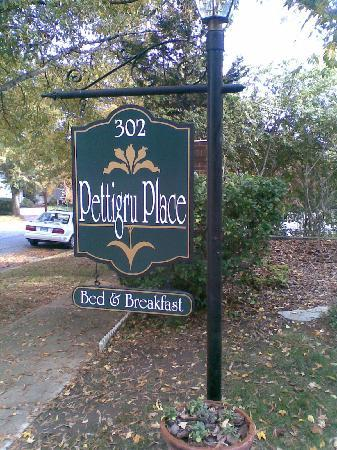 Pettigru Place Bed and Breakfast: Arrival