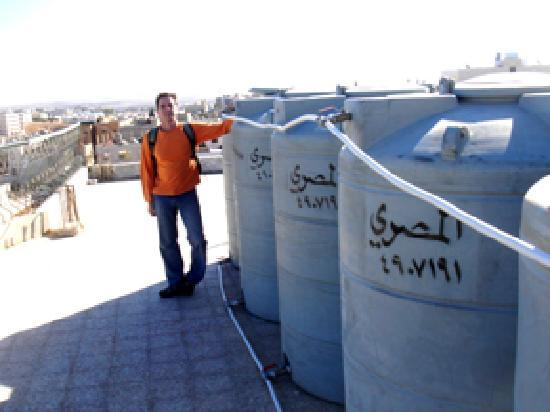 Mariam Hotel: Cisterns on the roof
