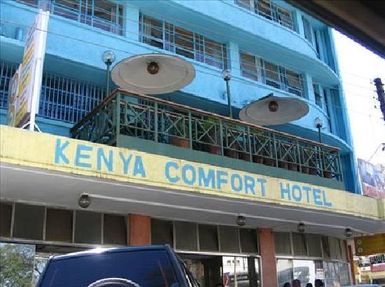 Kenya Comfort Hotel: Kenya Comfort Exterior