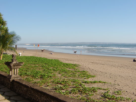 The Oberoi Bali: Beach near Oberoi