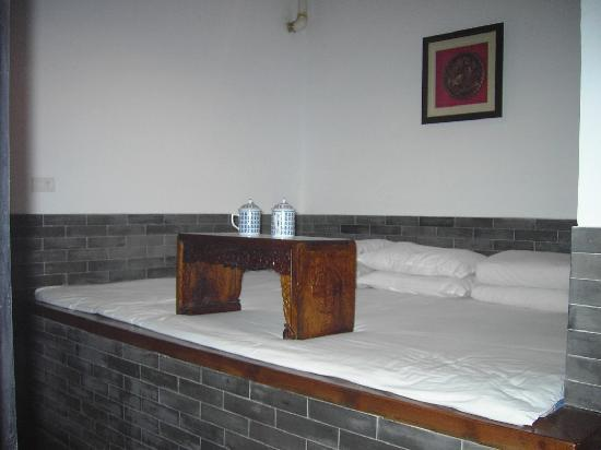 Pingyao Yide Hotel: le lit