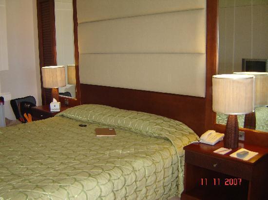 Danat Jebel Dhanna Resort: our room