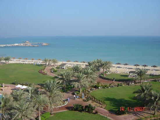 Danat Jebel Dhanna Resort: view from our room