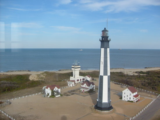 Virginia Beach, VA: View of New Cape Henry Lighthouse