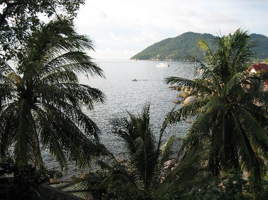 Charm Churee Villa: View from balcony