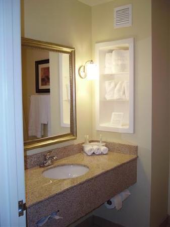 Holiday Inn Express Hotel & Suites Vandalia: Bathroom