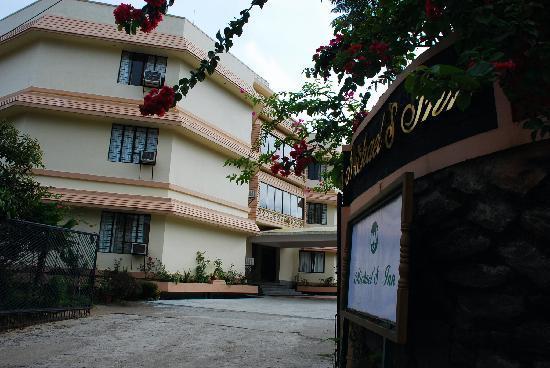 entrance of Michael's Inn, Thekkady