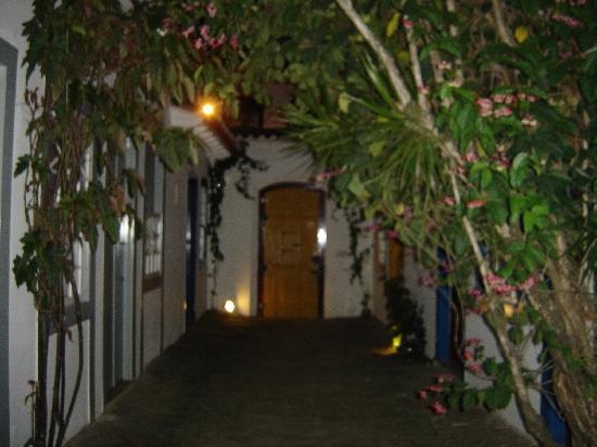Pousada do Ouro: le couloir des chambres