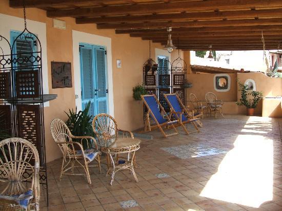 Hotel Mamma Santina: La terrazza comune