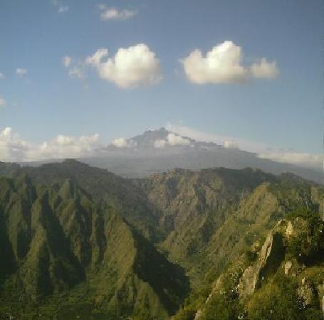 Villa Valview Holistic Retreat: The View over Mount Etna