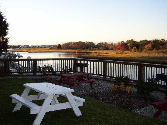 Riverview Resort on Cape Cod: View from room 21