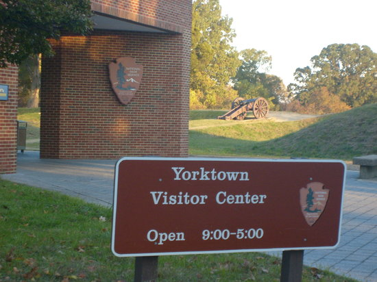 Yorktown, VA: Visitor Center