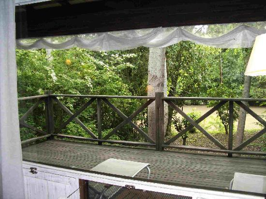 La Becasina Delta Lodge: Balcony
