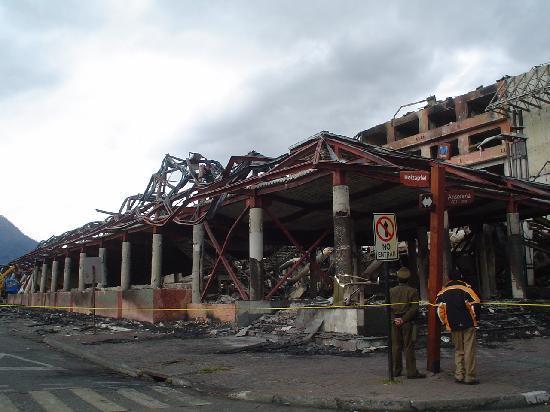 Hotel del Lago: Incendio casino