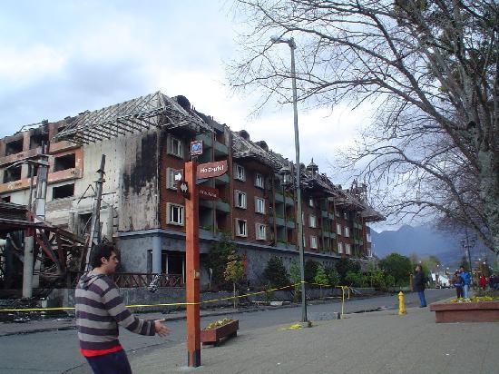 Hotel del Lago: incendio hotel