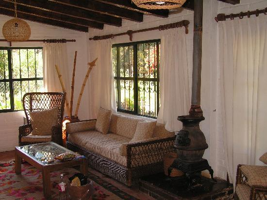 Rancho San Cayetano: Inside our cottage.