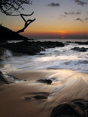Pousada Estrela do Mar: Sunset at the beach near the Pousada