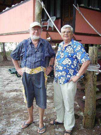 Mai Moana Island: Stan et moi sur son Motu de Mia Moana Island