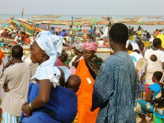 Les Bougainvillees : Mbour fish market