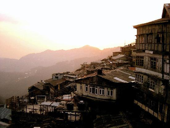 Sunset over Shimla