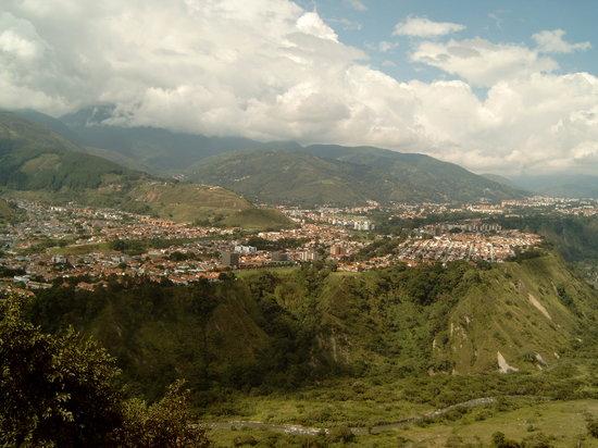 Agroturismo Cabanas Montes Los Tatuyes : Vista de la Ciudad
