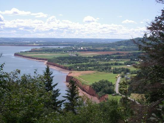 Annapolis Valley: taken from the Jpudrey Trail in Blomidon Park
