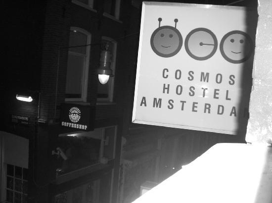 Hostel Cosmos Amsterdam : from the window