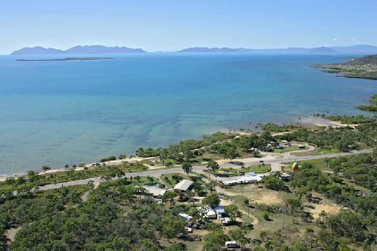 Ocean View Motel: aerial view