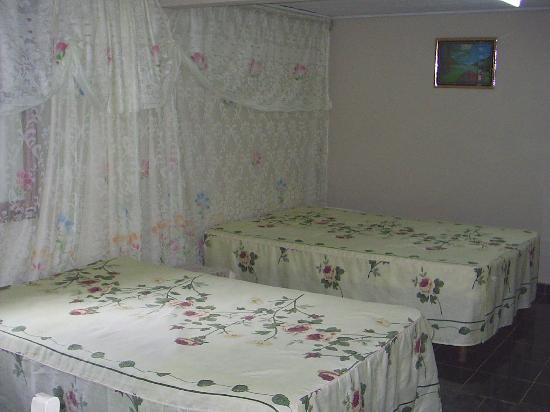 Casa Particular : Esta es la habitacion donde estuvimos.