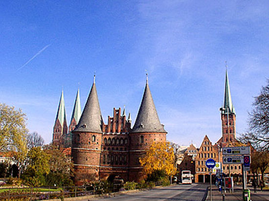 Holstentor Gate, Lubeck