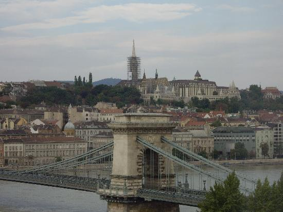 Sofitel Budapest Chain Bridge: View from the Hotel room