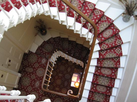 The Ben Doran Guest House: Staircase