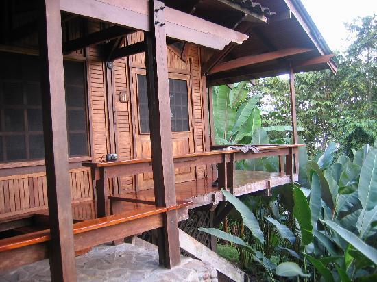 Aguila de Osa Inn: outside the room