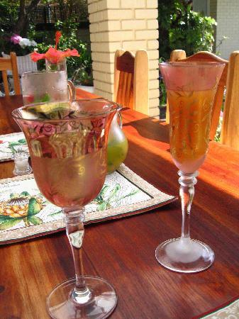Bay Tree House: Fresh Fruit Juice served in pre-chilled glasses