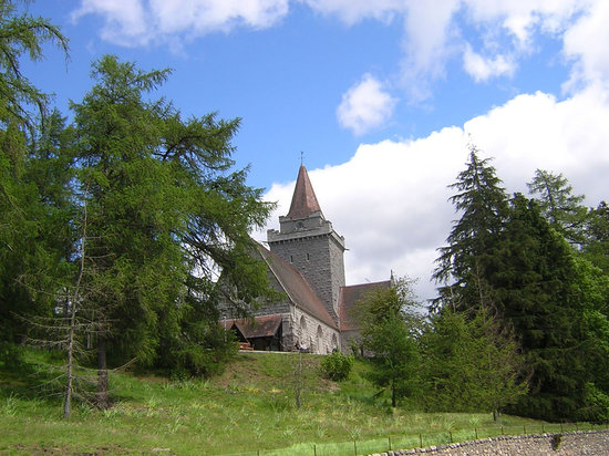 Баллатер, UK: Crathie Church, Balmoral, Ballater, Aberdeenshire, Scotland