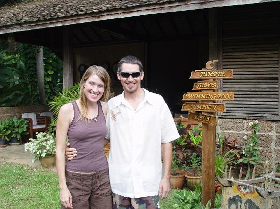 TaNiTa (Riverside) Resort: In front of Nice place for our stay at Tanita Resort Chiang Mai