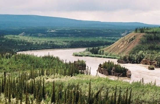 Ουάιτχορς, Καναδάς: Five Fingers rapids . nord de Whitehorse