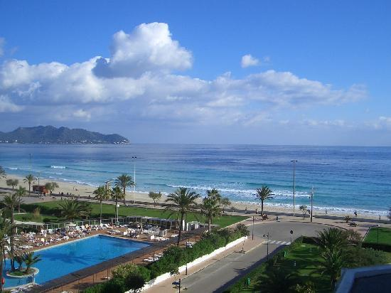 Hipotels Flamenco Cala Millor: View from our room
