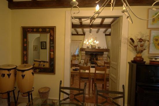 Chateau du Puits es Pratx : Dining room
