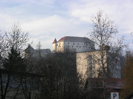 Velenje, Słowenia: view from the hotel