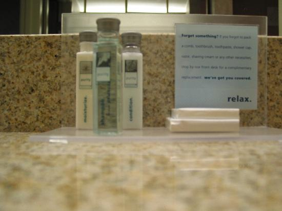 Hampton Inn by Hilton Spokane Airport : Toiretries