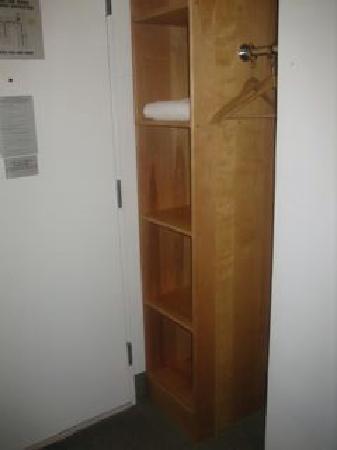 West Side YMCA: Closet And Bureau Area