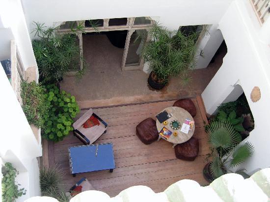Riad Safa: Courtyard