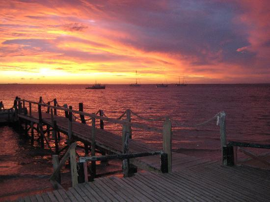 Pangaimotu Island Resort: Sunset