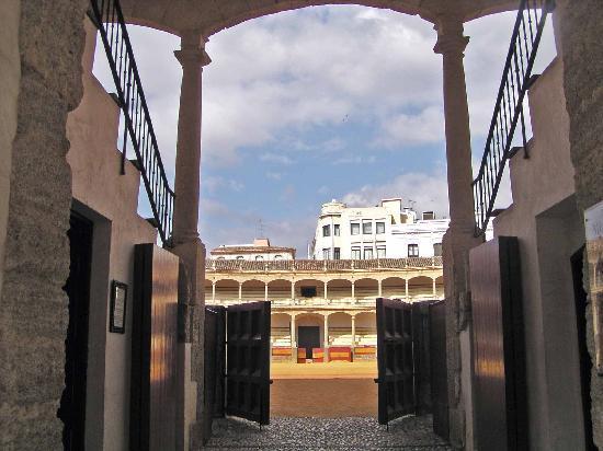 Plaza de Toros: Entrance into the ring